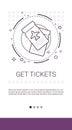 Get Tickets Online Booking Service Banner
