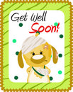 Get well soon greeting