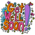 Get Well Soon Message Stock Images