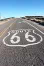 Get your kicks on Route 66 Stock Images