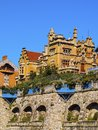 Getxo basque country spain residential district in on the coast of bilbao biscay Royalty Free Stock Photos
