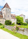 Gevrey-Chambertin Castle Royalty Free Stock Photography