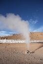 Geysir in der natürlichen reserve eduardo avaroa in bolivien Stockfotos