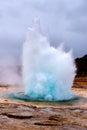 Geysir explosion Royalty Free Stock Photo