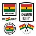 Ghana quality label set for goods
