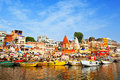 Ghats on Ganga Royalty Free Stock Image
