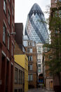 'The Gherkin' building in London Stock Photos