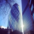 The gherkin london Royalty Free Stock Photography