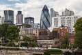 The gherkin london modern architecture building in downtown Royalty Free Stock Photos