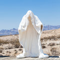 Ghost in the desert Royalty Free Stock Photo