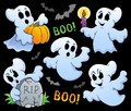 Ghost theme image eps vector illustration Stock Photos