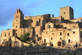 Ghost town of craco famous near matera southern italy Stock Photography