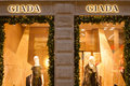 Giada shop in quadrilatero doro on the rectangle of gold milan italy Royalty Free Stock Photo