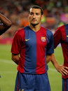 Gianluca Zambrotta of Barcelona Stock Images