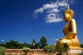 Giant buddha this is a Royalty Free Stock Photo