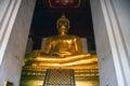 Giant Buddha image Royalty Free Stock Photo