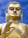 Giant buddha statue dambulla sri lanka at in the cultural triangle Royalty Free Stock Photos
