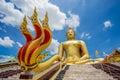 Giant buddha of Wat Muang