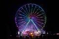 Giant ferris wheel Royalty Free Stock Photo