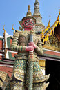 Giant in grand palace. Stock Photography