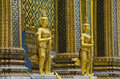 Giant guardian at Emerald Buddha Temple