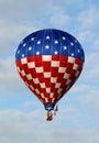 Giant hot air balloon Stock Photos
