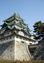 Giant Japanese ancient castle Stock Photos