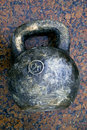 Giant kettlebell Royalty Free Stock Photo