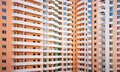 Giant multi-apartments building Stock Photo