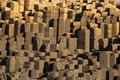 Giant's Causeway rock patterns and textures Royalty Free Stock Photo