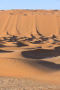 Giant sand dunes Royalty Free Stock Photo