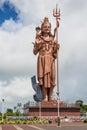 Giant Shiva statue at Grand Bassin lake, Mauritius