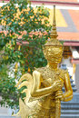 Giant statue at wat phra si rattana satsadaram wat phra kaew bangkok thailand Stock Photo