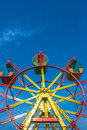 Giant Wheel and Blue Sky Royalty Free Stock Photo