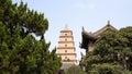 Giant Wild Goose Pagoda, Xian Stock Photo