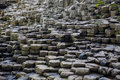 Giants Causeway Basalt Columns Royalty Free Stock Photo
