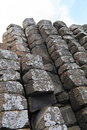 Giants causeway rock formations at the in northern ireland Stock Photography