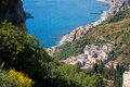 The Giardini Naxos bay Royalty Free Stock Photo