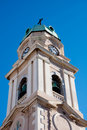 Gibraltar Cathederal Bell Tower Royalty Free Stock Photos