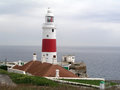 Gibraltar Lighthouse Royalty Free Stock Photography