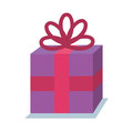 Gift birhtday present icon Royalty Free Stock Photo