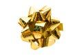 Gift bow on white background Royalty Free Stock Photos