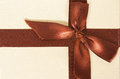 Gift with bow for your design Royalty Free Stock Images