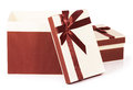 Gift with bow for your design Royalty Free Stock Image