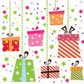 Gift box background Royalty Free Stock Image