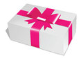 Gift box christmas time present Royalty Free Stock Photography