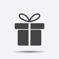 Gift box icon.