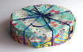 Gift box nicely wrapped with ribbon Royalty Free Stock Images