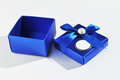 Gift box opened Royalty Free Stock Photography
