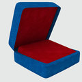 Gift box for the ring on white background Royalty Free Stock Image